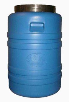 бидон 60 литров синий