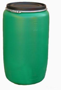 бочка 227 литров зеленая