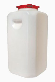 бидон 110 литров квадратный
