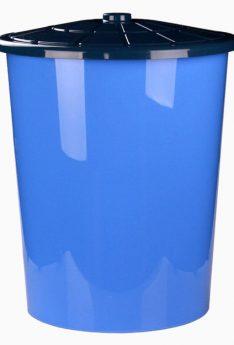 бак 100 литров синий