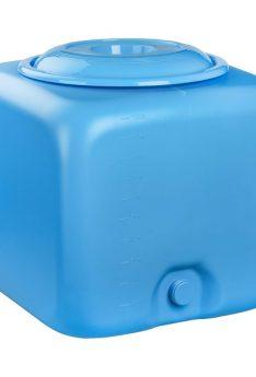 Бак для душа 100 литров голубой