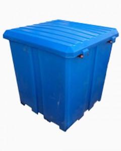 Универсальный контейнер С 1000 литров  с крышкой