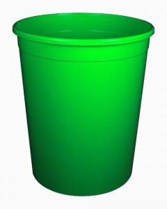 Бак 225 литров зеленый без крышки