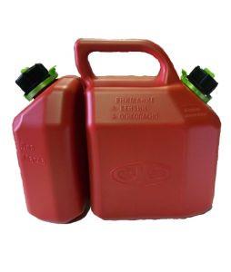 Канистра двухобъемная 8,5  литров для бензина