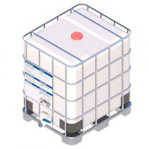 Еврокуб IBC 1000л на пластиковом поддоне не мытый из-под виноградного жмыха пищевой